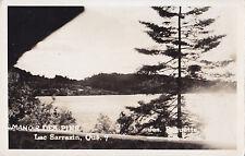 Manoir des Pins Lac Sarrazin ST-GUILLAUME-NORD Quebec Canada 1950 Carte Photo