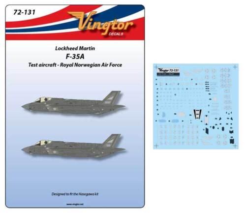 Rnoaf #72131 Vingtor 1//72 Lockheed-Martin F-35a