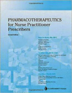 Pharmacotherapeutics For Nurse Practitioner Prescribers By Woo Ebay