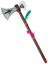 Red Indian Plastic Tomahawk Native American Fancy Dress Axe Dagger Weapon Kids