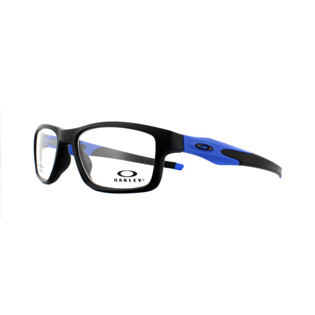 a02f9cfa22d Oakley Glasses Frames Crosslink Trubridge OX8090-09 Black Blue 53mm
