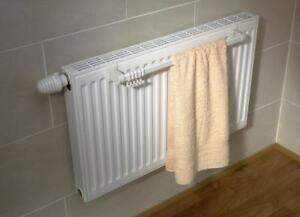 Schulte Handtuchhalter für Kompakt-Heizkörper 54 cm weiss Heizung ...