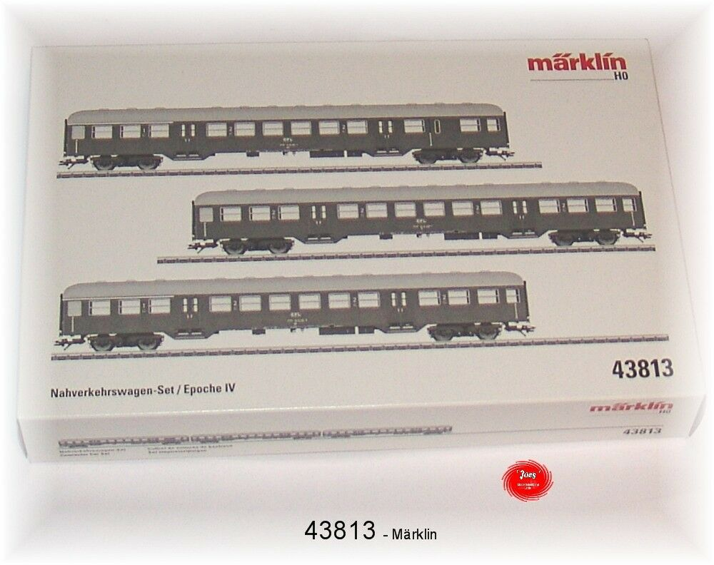43813 carro trasporto locale-Set della CFL 3 pezzi  neu in OVP
