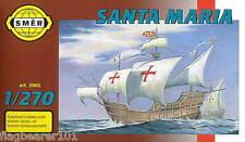 SMER 905 - SANTA MARIA. SPANISH SHIP.  1:270 SCALE PLASTIC KIT.  152mm LONG
