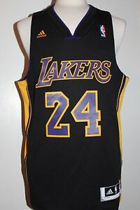 fwctmn Kobe Bryant Los Angeles Lakers Hollywood Nights Black Swingman