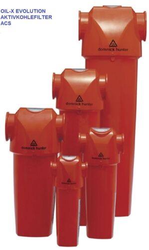 PARKER Aktivkohlefilter OIL-EX ACS Restölgehalt < 0,003 mg/m³ vers. Größen