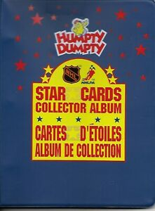 1992-034-HUMPTY-DUMPTY-034-Complete-Set-50-mini-card-2-checklist-serie-1-amp-2-Binder