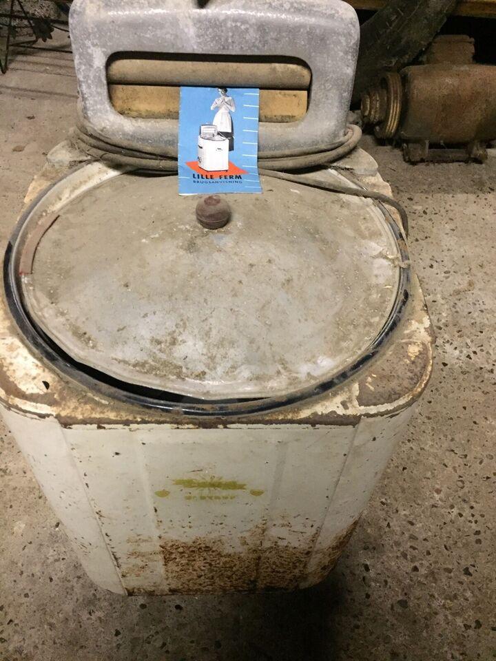 Andet mærke vaskemaskine, Ferm vaskemaskine - den er vel