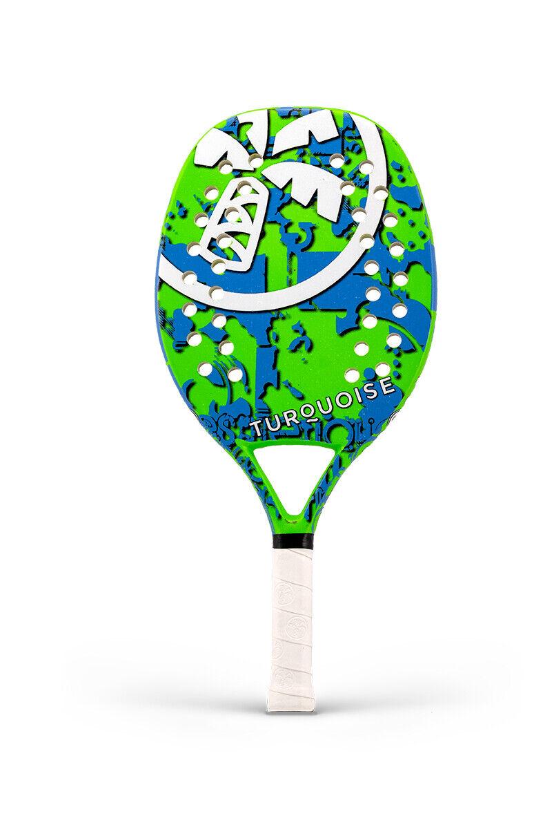 Raqueta Tenis Jugara Racket Turquoise Power Estrellat verde 2019