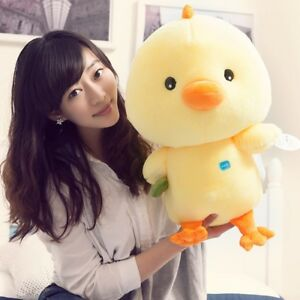 50cm Cute Yellow Chicken Stuffed Animal Soft Plush Toy Chicken Baby