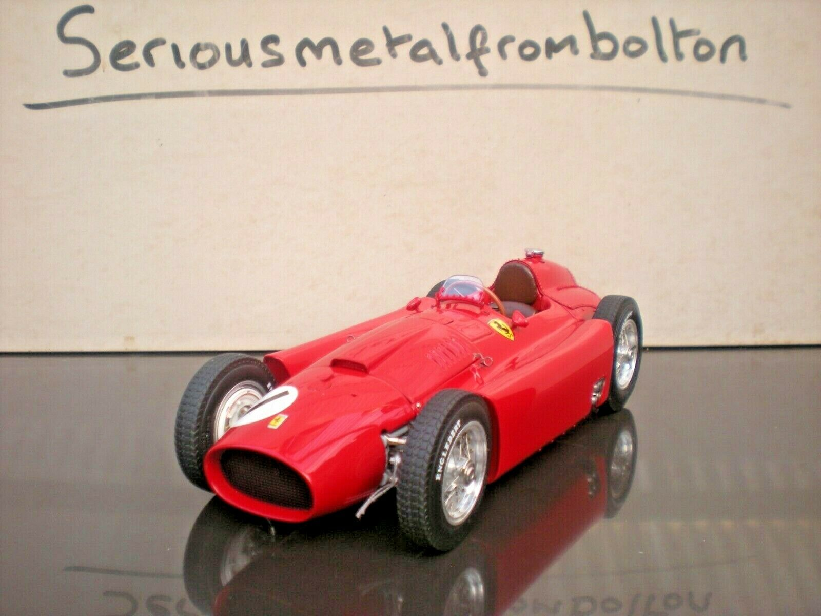CMC M-197 Ferrari D50 1956 GP Great Britain Fangio 1 18