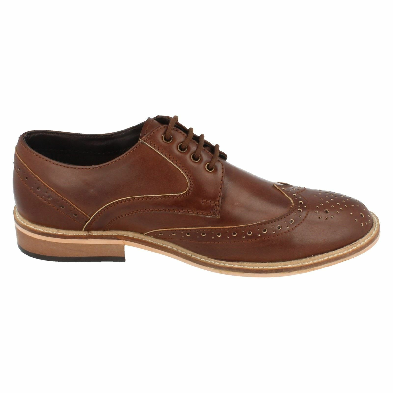 Herren 21004 Up Brogue Lace Up 21004 Schuhes By Lambretta Retail Price 484ea9