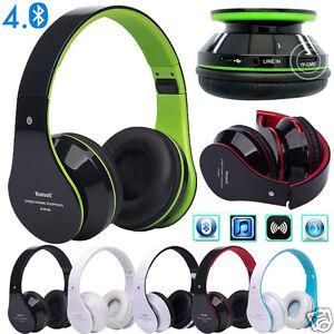 Foldable-Wireless-Bluetooth-4-0-Stereo-Headset-Hands-free-Headphone-Mic-TF-Card