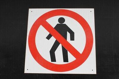 Hinweisschild Schild Kennzeichnung Kein Zutritt Durchgang Verboten 21,2 X 20,8cm Fabriken Und Minen