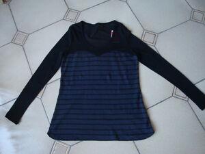 Très Beau Tee - shirt T 1 Miss Captain marinière - France - État : Neuf avec étiquettes: Objet neuf, jamais porté, vendu dans l'emballage d'origine (comme la bote ou la pochette d'origine) et/ou avec étiquettes d'origine. ... - France
