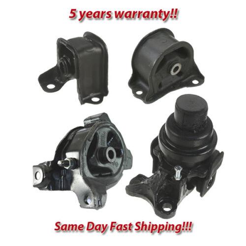 DX for Manual. 94-97 for Honda Accord 2.2L LX Engine Motor /& Trans Mount 4PCS