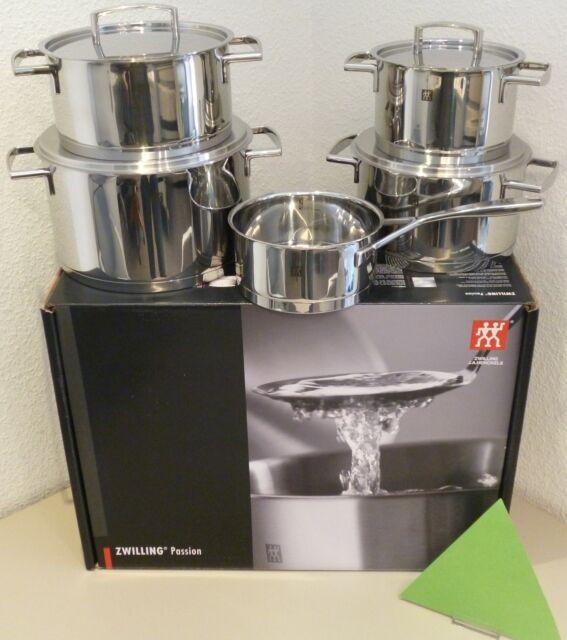 Zwilling Batería de cocina Pasión 5 piezas acero inox. Set 5