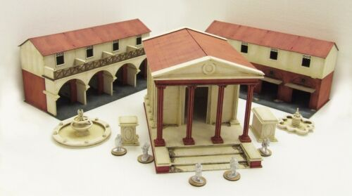 UPPER RANK CORNER Streets /& Gangs of Rome 28mm ASSEMBLED /& PAINTED MDF