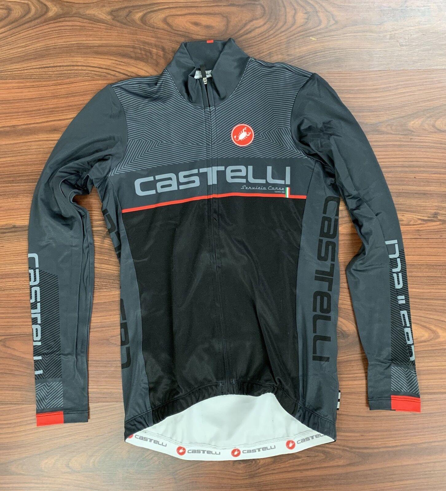 Castelli Team LS Jersey Men's XSmall New