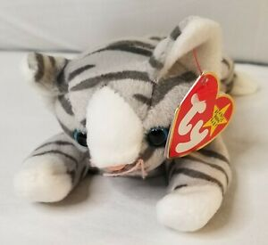 Ty Beanie Baby Prance the cat 1997 new with mint tag, stuffed animal