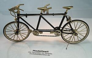 fahrrad modell miniatur tandem fahrradmodell ebay. Black Bedroom Furniture Sets. Home Design Ideas