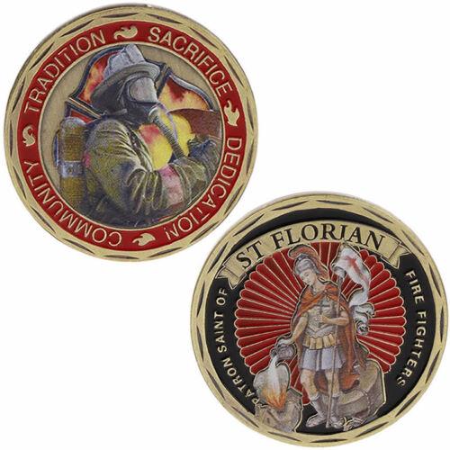 Pièce commémorative Amérique Protection contre le feu ST Florian Souvenir Craft