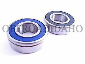 Front Wheel Bearing Kit ABS for Harley-Davidson FLHRC Road King Classic 2008