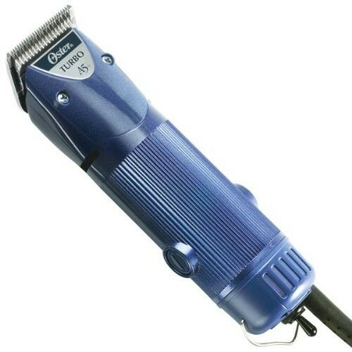 New Oster A5 Turbo 2-Speed Professional Animal Clipper Pro Heavy Duty blu