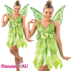 image is loading ladies rubies deluxe tinkerbell disney fairy costume peter