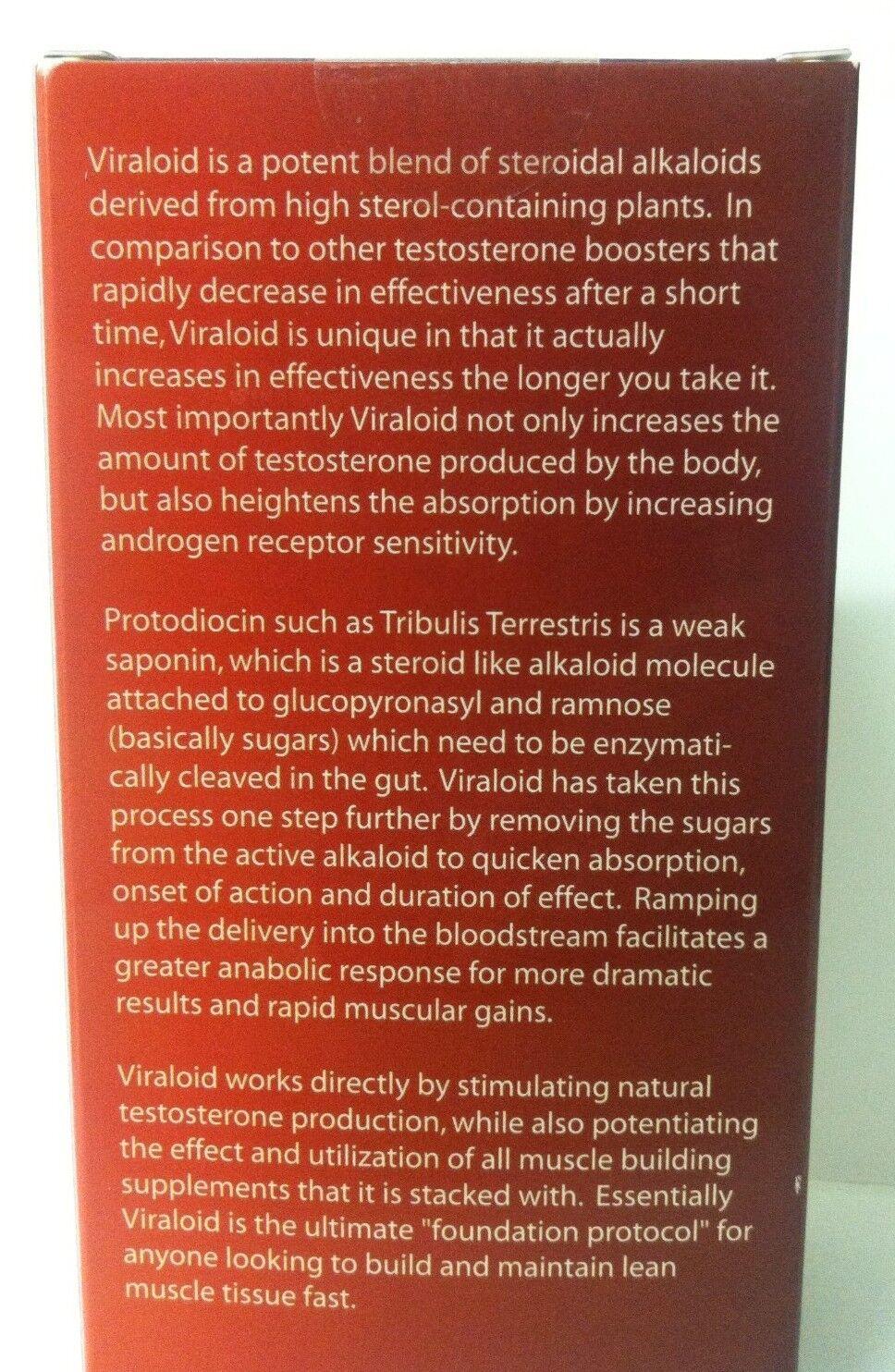 Viraloid Vyotech Muscle Strength Booster Natural Testosterone Booster Strength 3 bottles 7/2021 b3d7de