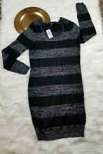 nwt women's Torrid stripe sweater dress size 18 /20