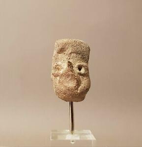 Tete-de-guerrier-Olmeque-Sud-Mexique-Nord-Guatemala-epoque-pre-classique