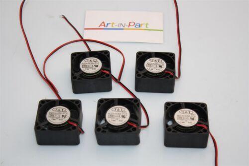 Lot of 5x T/&T 4020HH05B-PD5 CPU Cooling Fan 5VDC 0.44A 40x40mm