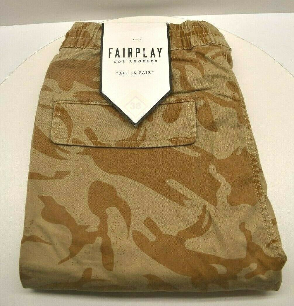 Fairplay Los Angeles All Is Fair Joggers Men's Size 34 FREE SHIPPING BRAND NEW