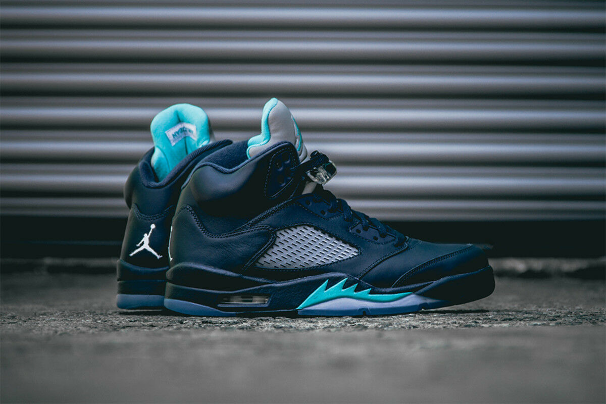 NIKE Air Jordan 5 Retro V HORNETS 136027-405 SIZE 11.5 USA SIZE 45.5 EU NEW DS