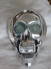 "Skull Motorcycle Headlight - Fits Bikes with 7"" Headlight"