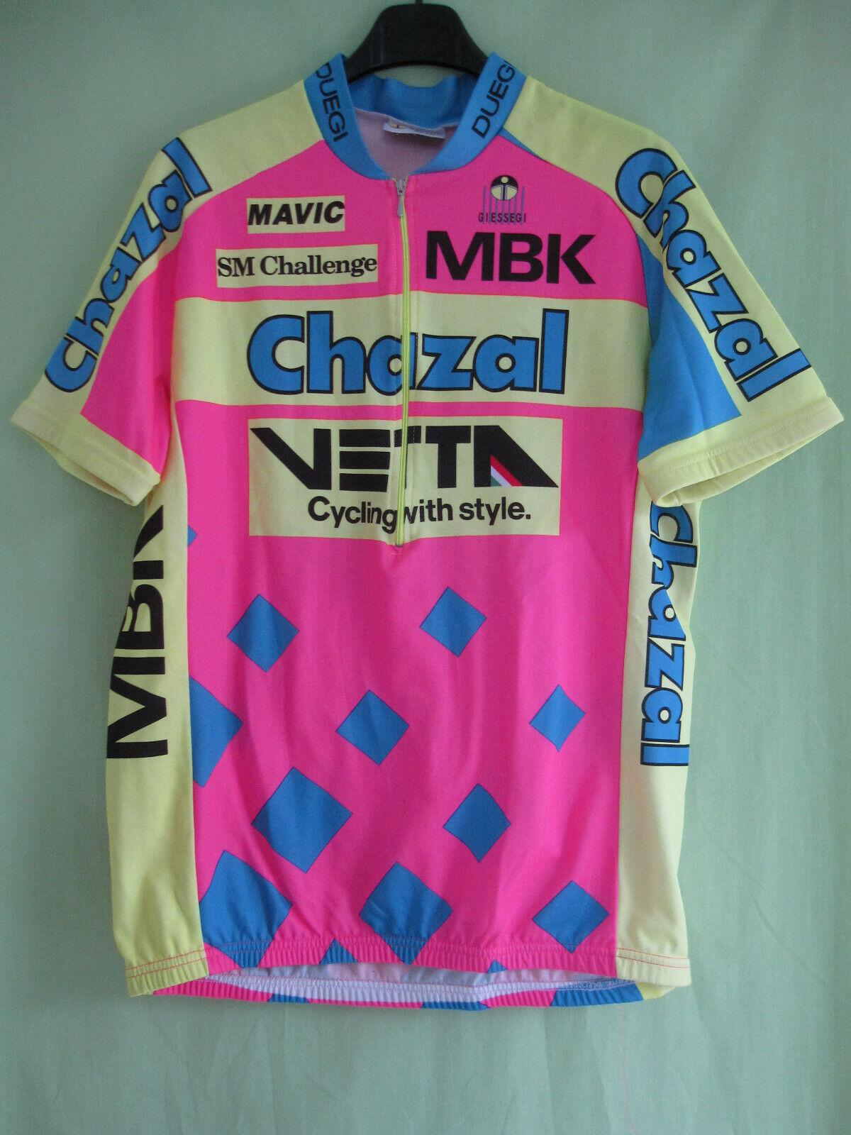 Maillot Cycliste Chazal Vetta MBK SMS Challenge Tour de France 1993  5  L
