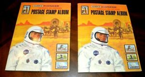 CatalinaStamps-2-Harris-Pionneer-WW-Stamps-Albums-1978-800-Stamps-Lot-G