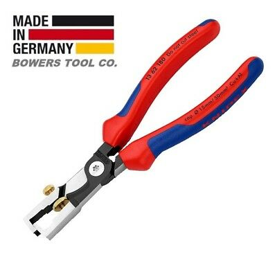 Knipex 11 02 160 End-Type Wire Strippers with Comfort Grip 6.25 Inch