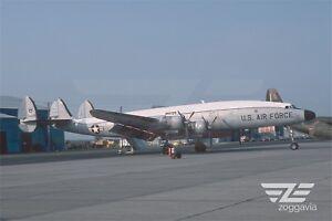 Aircraft-Photo-4-x-6-44062-Lockheed-C-121-Constellation-U-S-Air-Force-1970