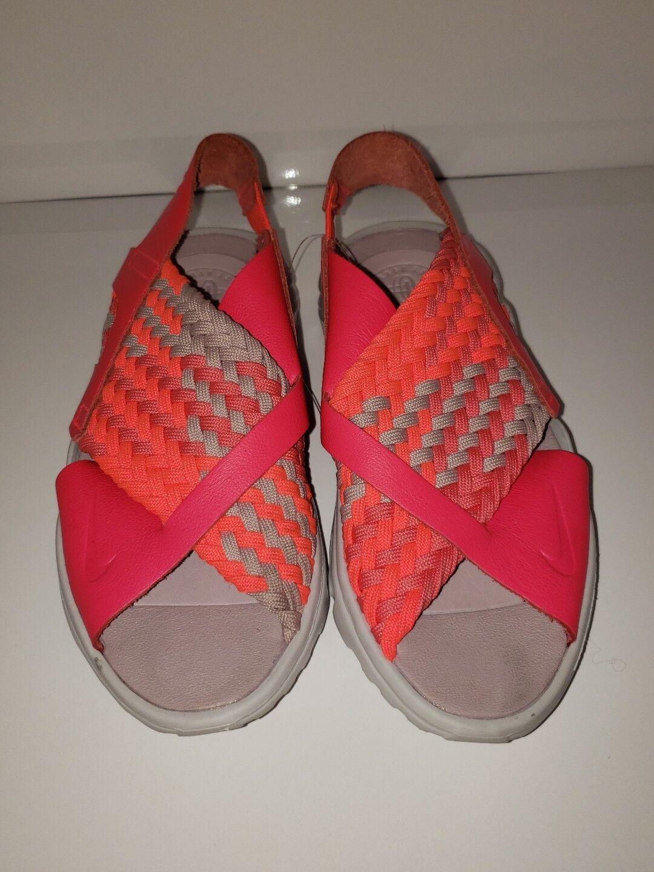 Nike Air Huarache Ultra 6 Sandals Size 6 Ultra Solar Red Neon Pink  100 25b28f