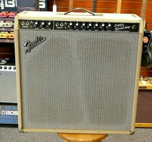 Vintage-1976-Fender-Super-Reverb-Blackface-Conversion-Weber-Alnicos-NO-RESERVE