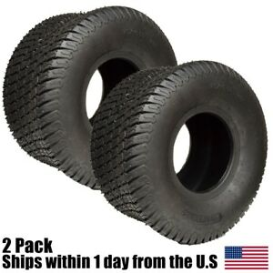 2PK-20x10-00-8-Soft-Turf-Tires-4-Ply-Lawn-Mower-Garden-Tractor-20x10x8-20x10-8