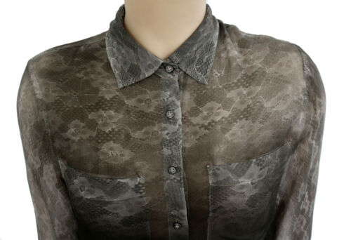 Guess Gr Bluse Italy In Made Xs Hemd 34 36 aa4wr71n