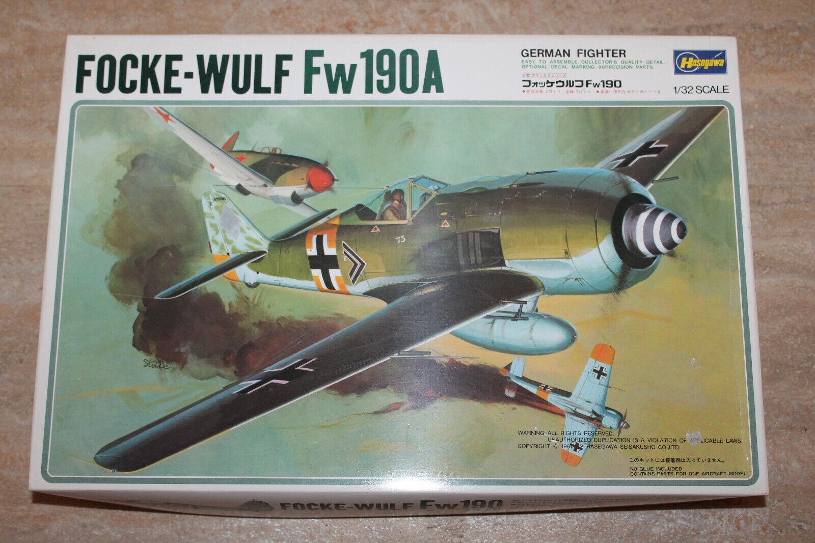 Hasegawa S010 1300 Focke Wulf Fw190A 1 32 NEU OVP