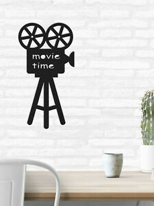 Metal Camera Wall Art Movie Room Decor