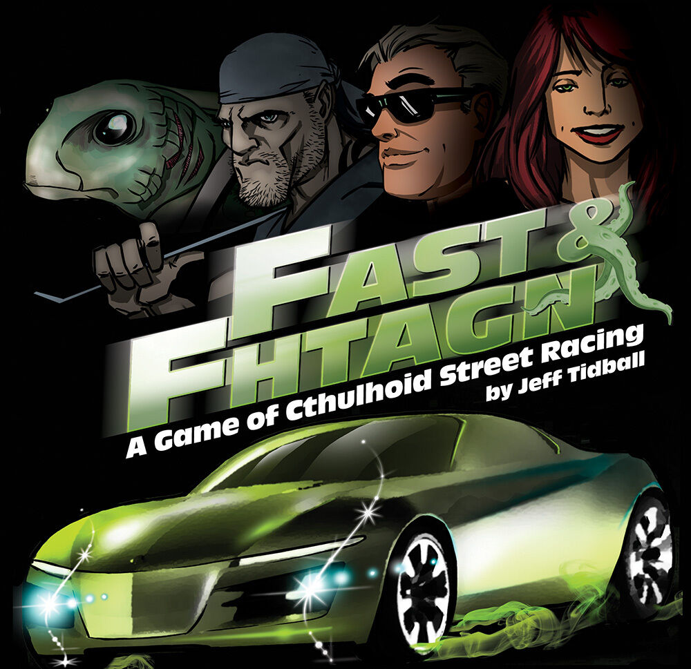 Fast & Fhtagn, Card Game, New by Atlas, in English
