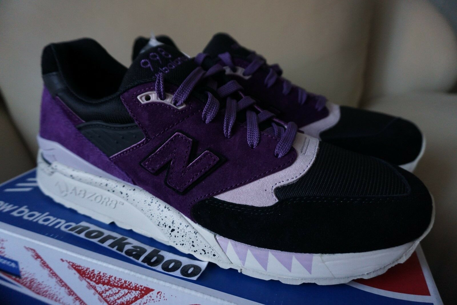 New Balance x  Freaker 998 CM998SNF Tassie Devil purple fieg 1500 10 10.5
