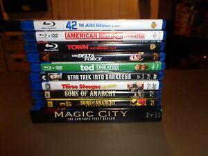 10-Blu-Ray-Movie-amp-TV-Lot-A-list-DVDs-Wholesale-Bulk-COLLECTION-Bluray-Disney