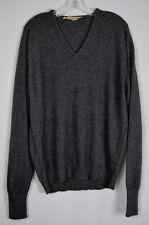 Vintage 50s 60s Mens Byford 2 ply Cashmere V-Neck Sweater Preppy Prep Hardy Aime